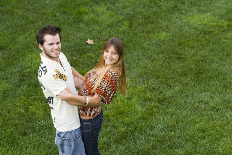 романтичное пар напольное стоковое фото