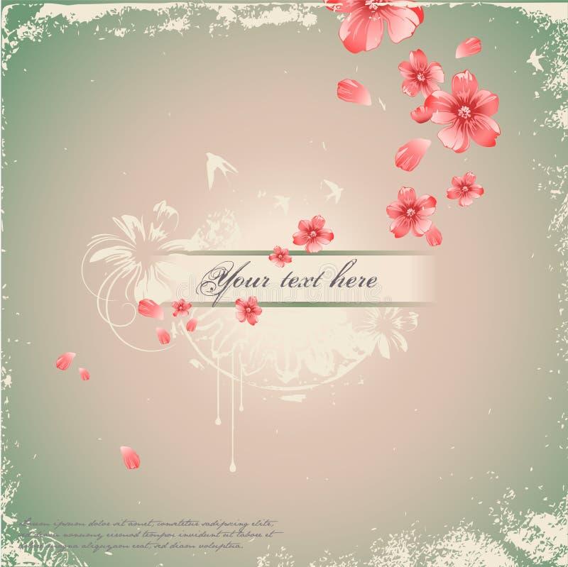 романтичное предпосылки флористическое бесплатная иллюстрация