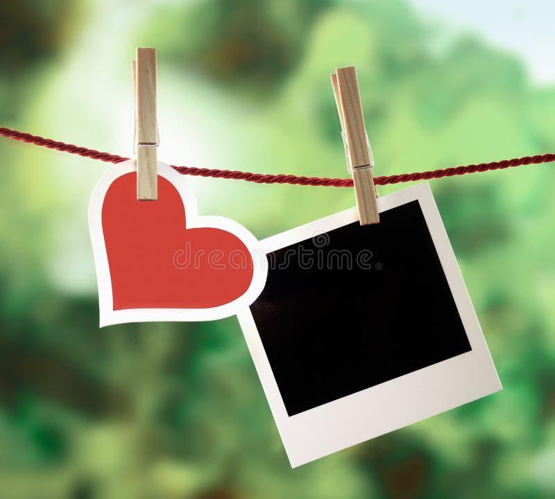 Романтичные памяти Валентайн стоковое изображение