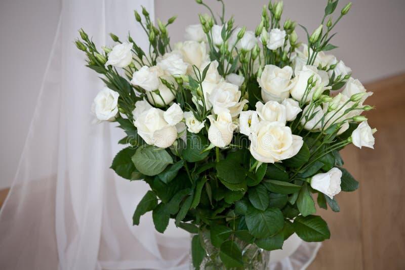 Романтичный букет роз стоковая фотография