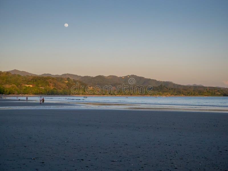 Романтичный на пляже стоковое фото rf