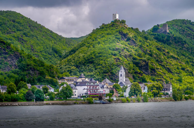 Романтичный Rhineland стоковое фото rf