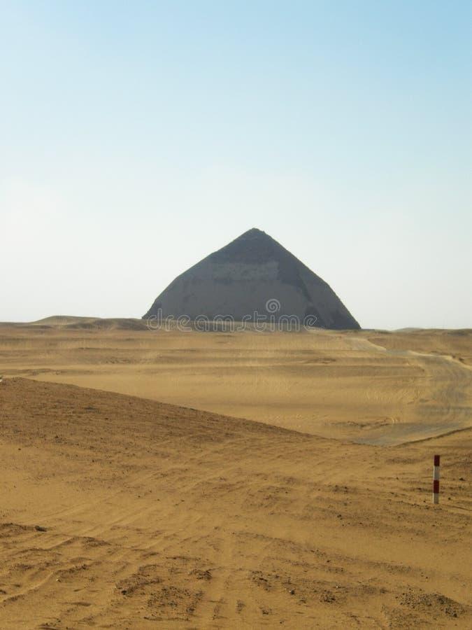 Ромбоподобная пирамида стоковая фотография rf