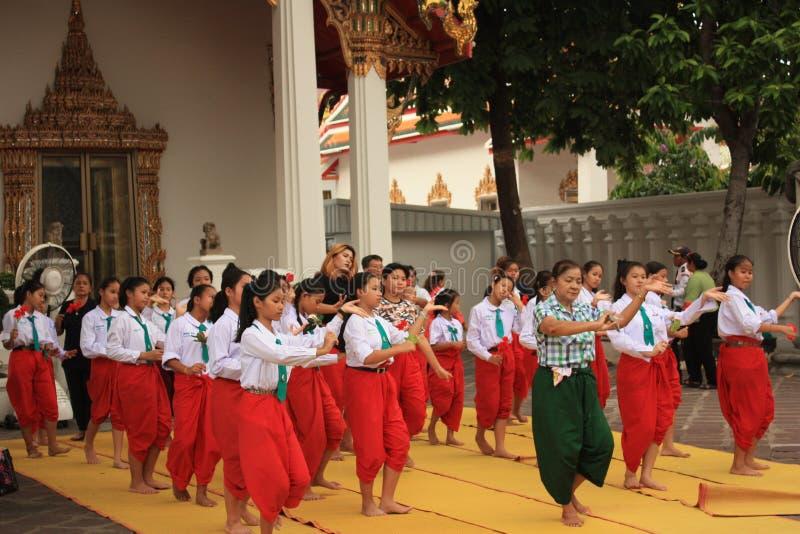 Ром тайский в Бангкоке, Таиланде стоковые изображения rf
