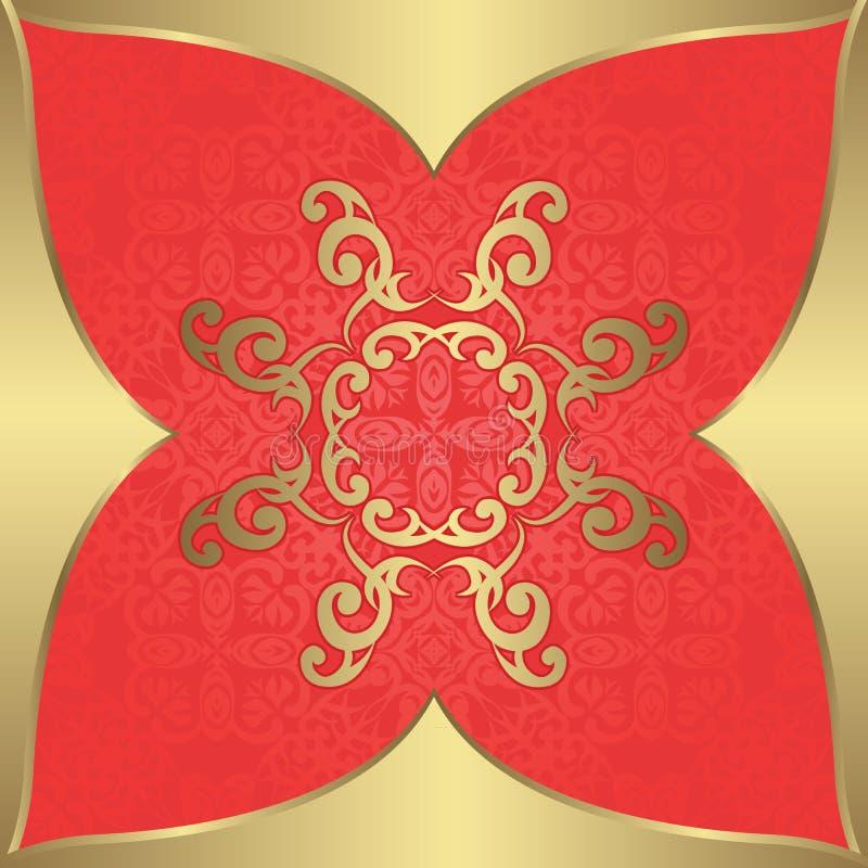 Download Роскошная винтажная предпосылка Иллюстрация вектора - иллюстрации насчитывающей знамена, ornate: 33736278