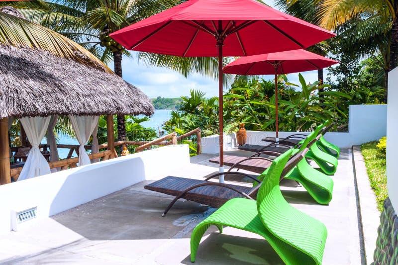 Роскошная гостиница в побережье эквадора стоковое фото rf