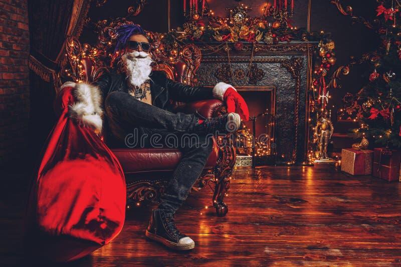 Роскошная квартира santa стоковые фотографии rf