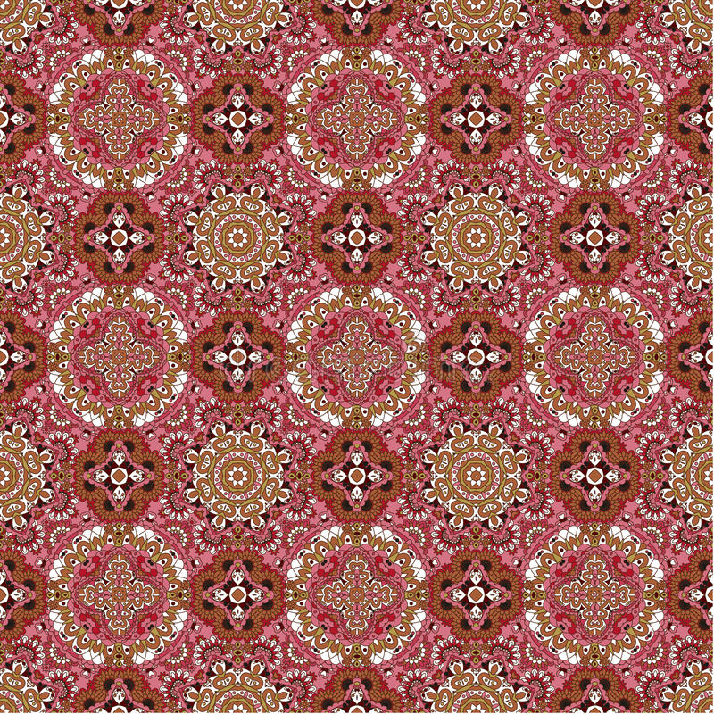 Роскошная красочная флористическая безшовная предпосылка картины стоковые изображения