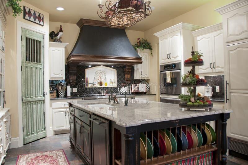 Роскошная кухня стоковая фотография rf