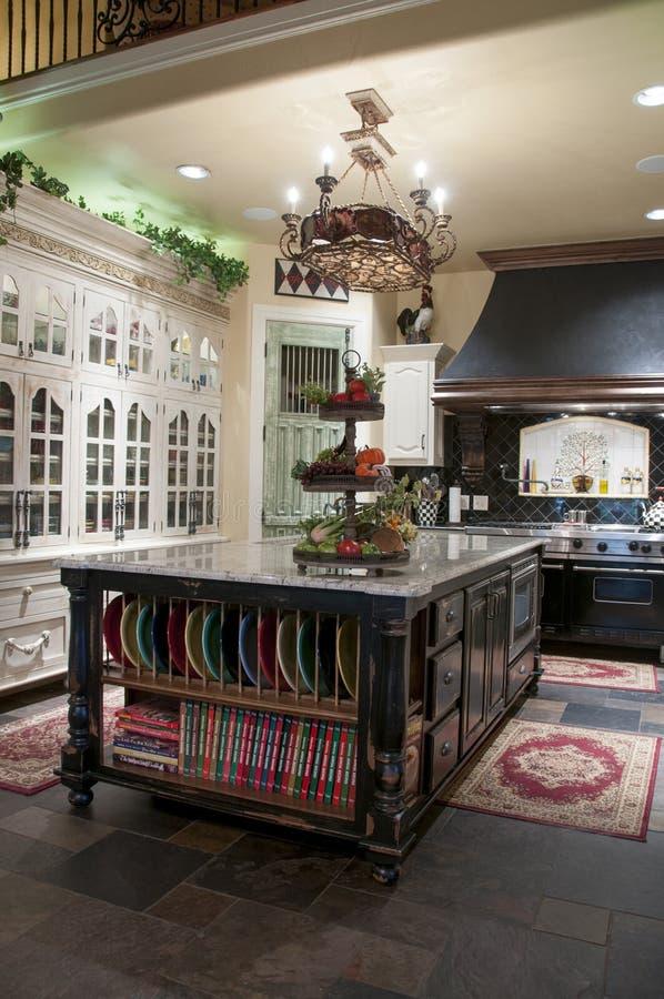 Роскошная кухня стоковые фотографии rf