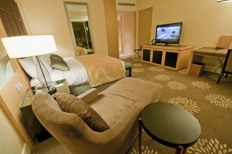 Роскошная сюита гостиницы стоковые изображения