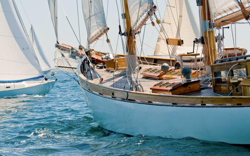 роскошная яхта моря стоковые изображения