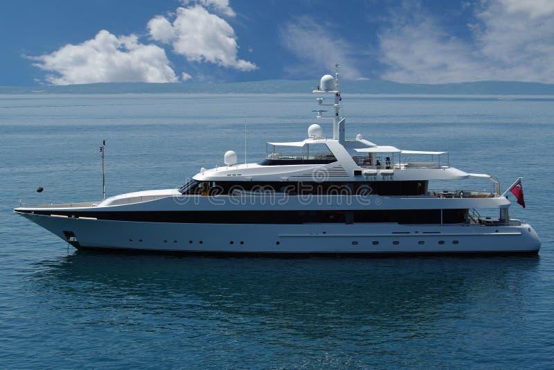 роскошная яхта стоковая фотография