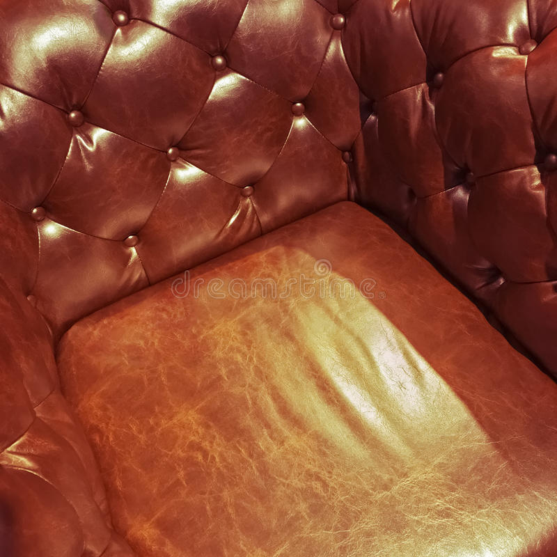 Роскошное кожаное кресло стоковые фотографии rf