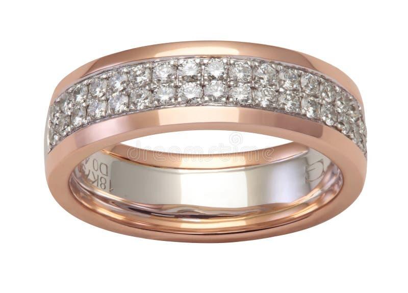 Роскошное кольцо с бриллиантом стоковая фотография