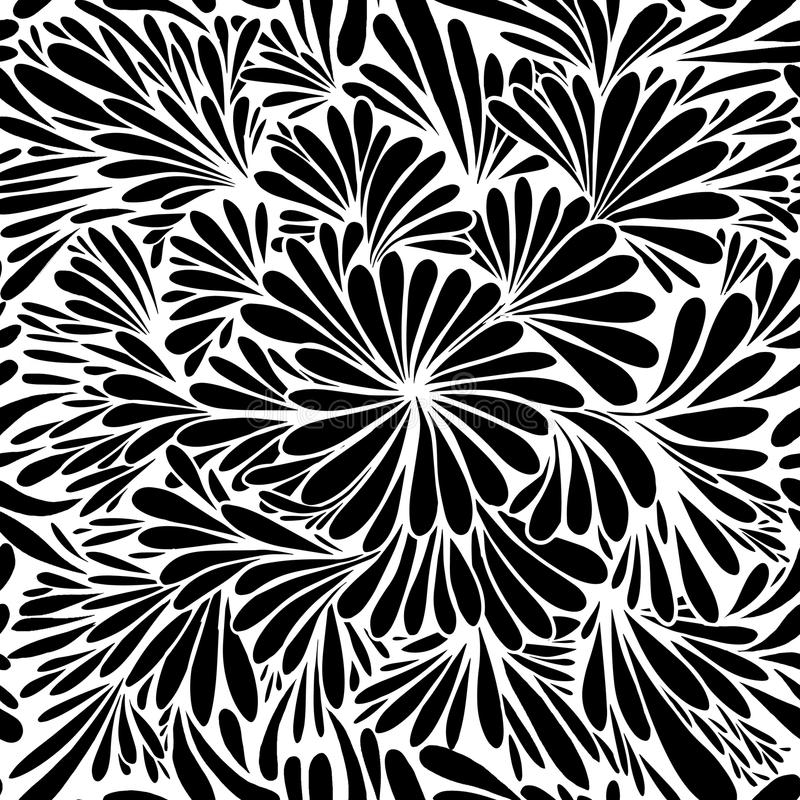 Роскошные обои Винтажная предпосылка вектора цветочного узора бесплатная иллюстрация