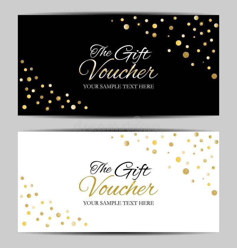 Роскошные члены, шаблон карточки подарка для вашей иллюстрации вектора дела иллюстрация штока