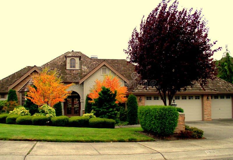 Роскошный дом Бесплатное Стоковое Изображение