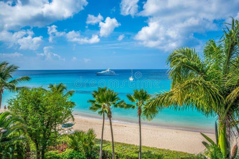 Роскошный карибский уклад жизни стоковая фотография rf