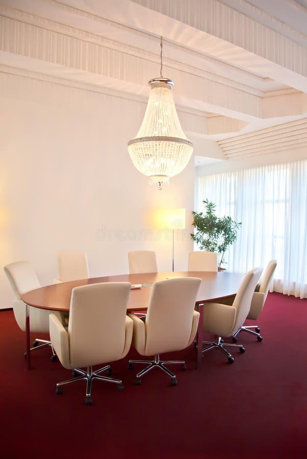 роскошный конференц-зал стоковые фото