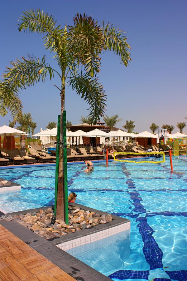 Роскошный курорт гостиницы стоковое фото