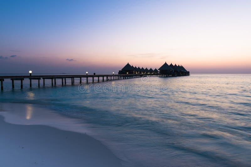 Роскошный курорт, Angaga стоковые изображения