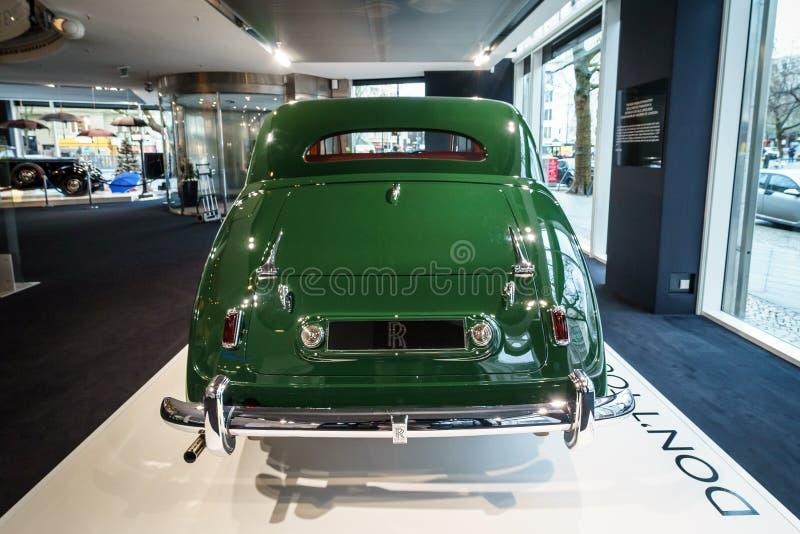Роскошный лимузин фантома IV sedanca de ville Rolls Royce автомобиля, 1952 Coachwork Хупером Лондона стоковое изображение rf