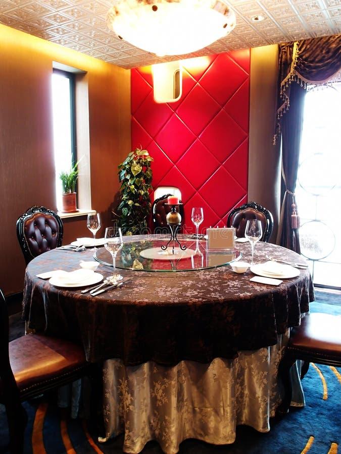Роскошный ресторан стоковая фотография rf