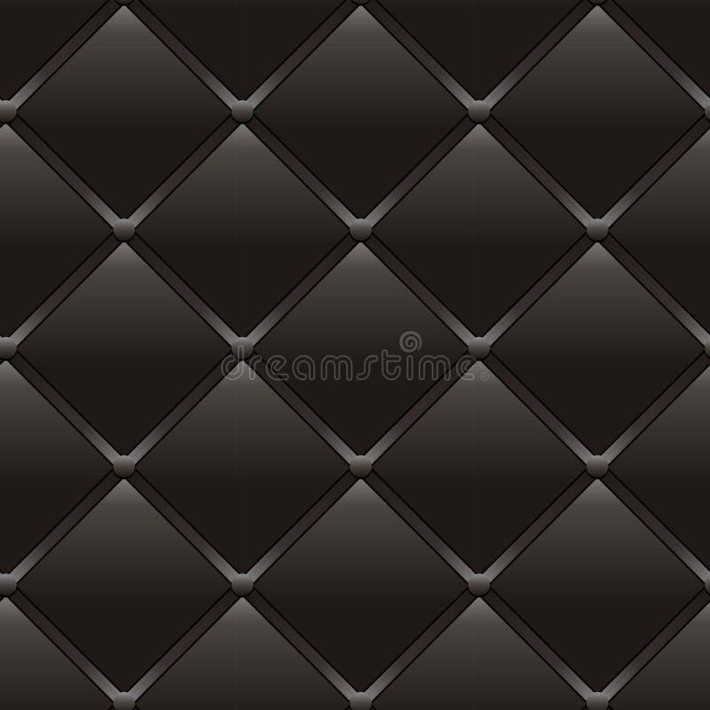 Роскошный темно-коричневый цвет кожи иллюстрация вектора