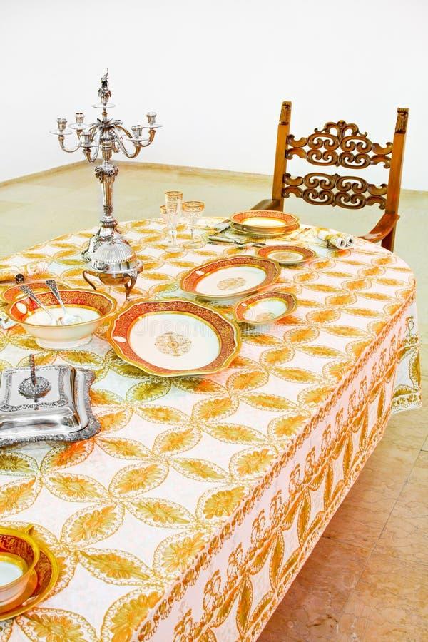 роскошный tabletop стоковая фотография