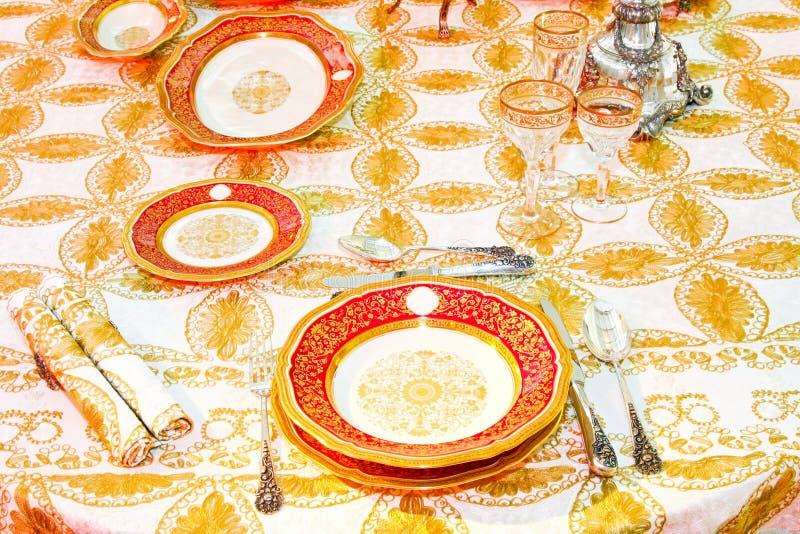 роскошный tabletop стоковые изображения rf