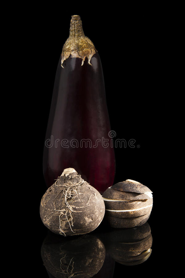 Роскошный vegetable натюрморт. стоковые изображения rf