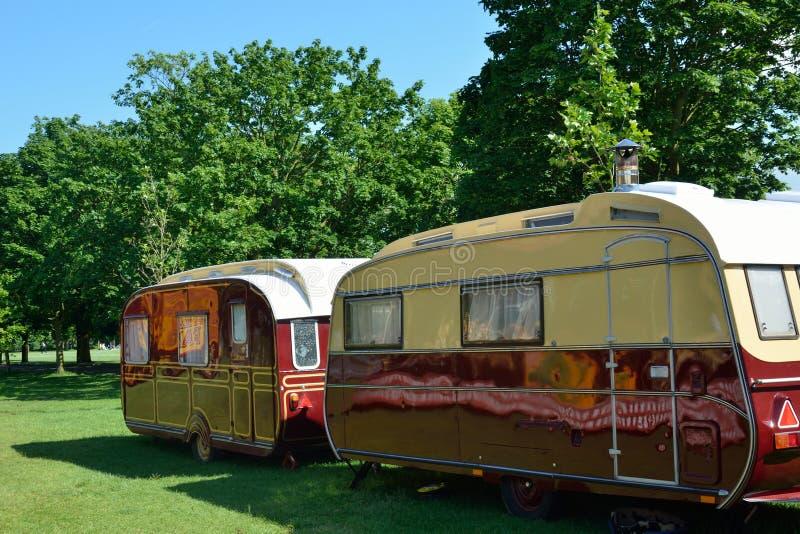 2 роскошных каравана стоковые фотографии rf