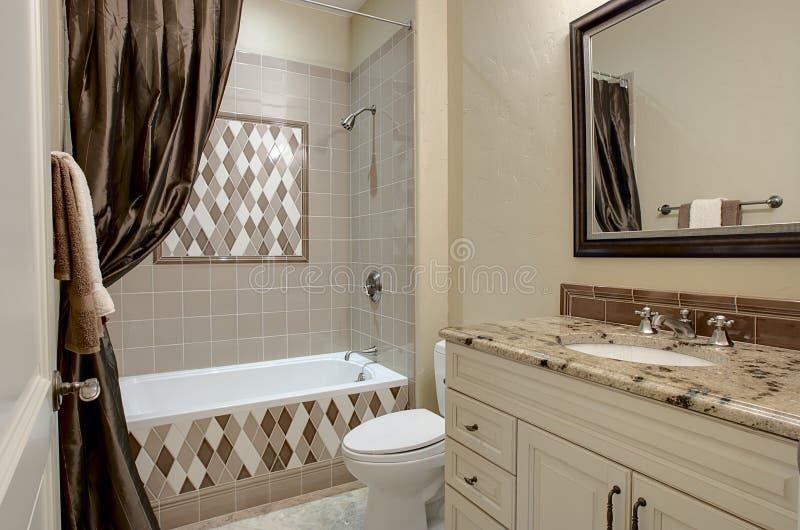 роскошь ванной комнаты декоративная стоковая фотография rf