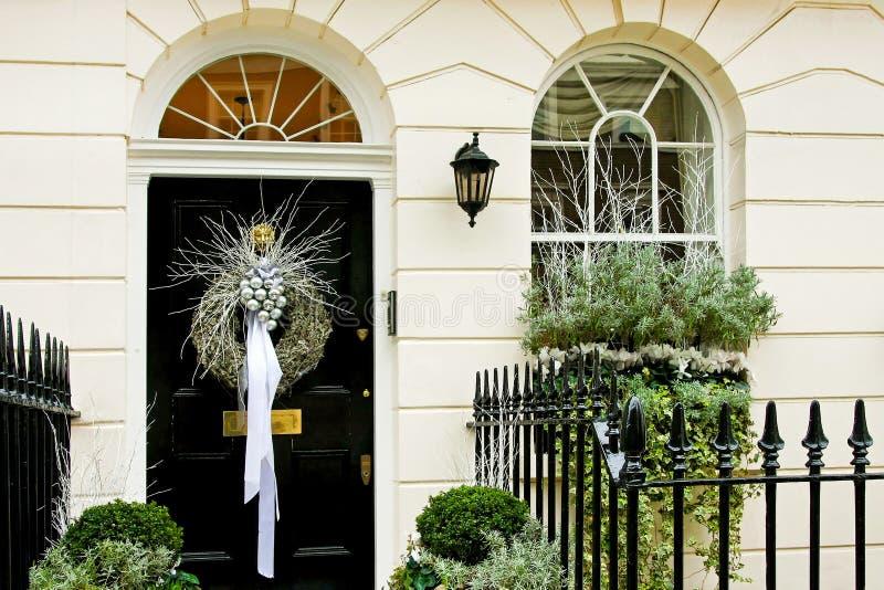 роскошь двери рождества стоковая фотография