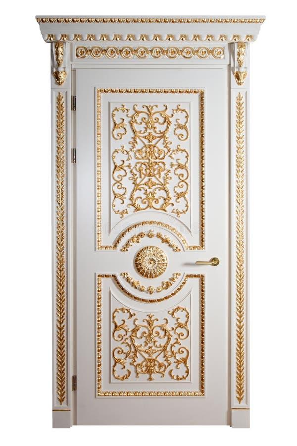 роскошь двери handmade стоковая фотография rf