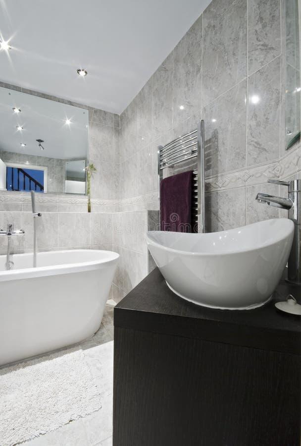 роскошь детали ванной комнаты стоковая фотография rf