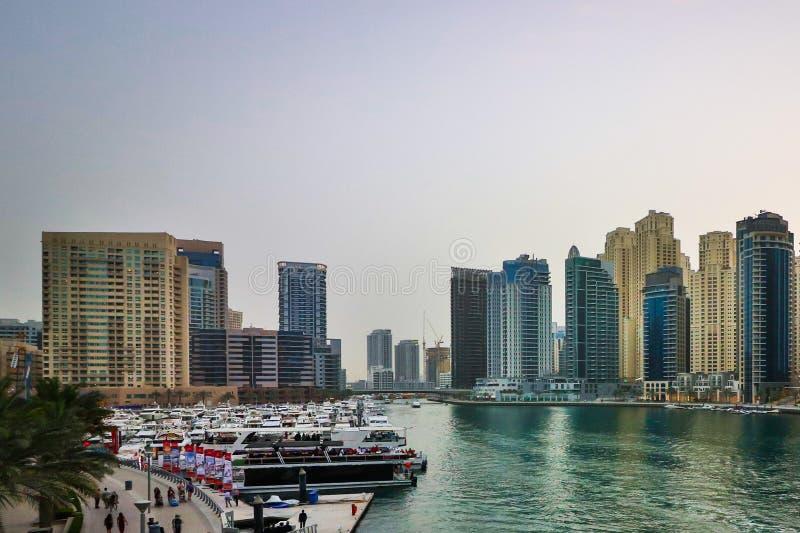 Роскошь и дело Dubai Creek стоковое изображение rf