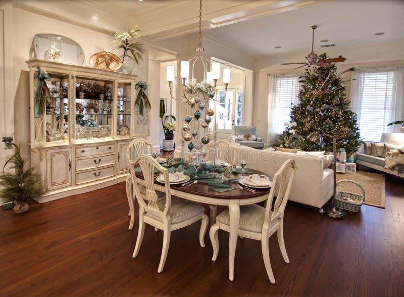 роскошь рождества квартиры стоковые фотографии rf