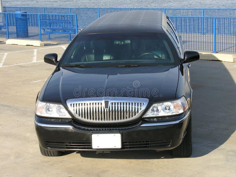 роскошь lincoln limo стоковое изображение rf