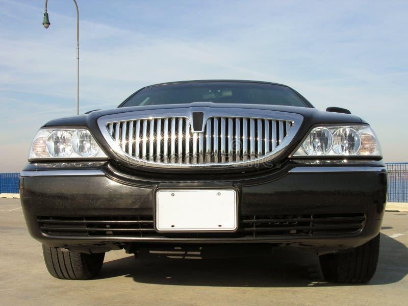 роскошь lincoln limo стоковые изображения rf