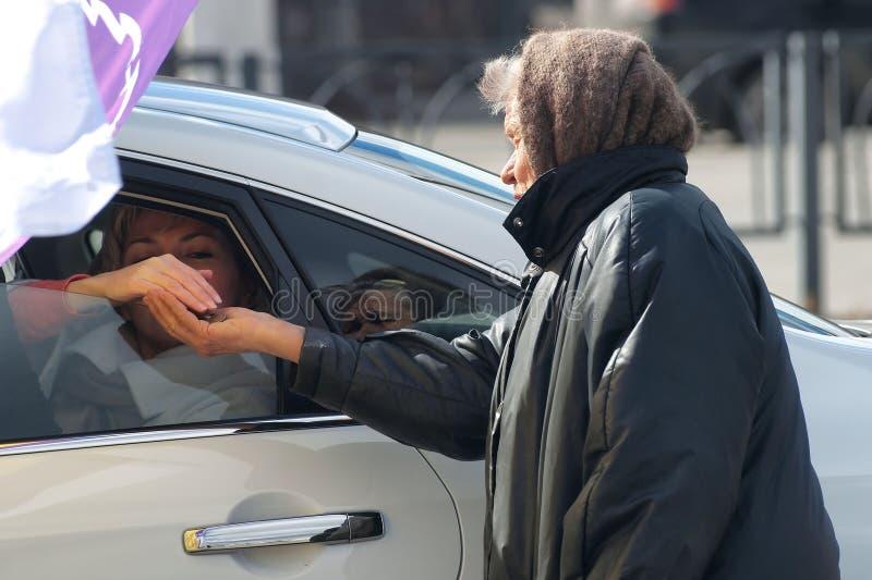 Россия, город Магнитогорск, 12-ое апреля 2015 стоковое изображение rf