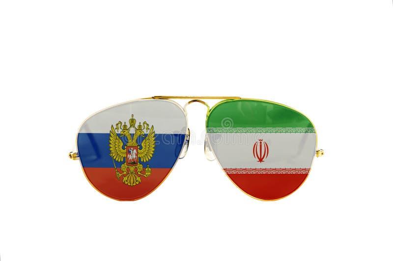 Россия и Иран стоковые фотографии rf