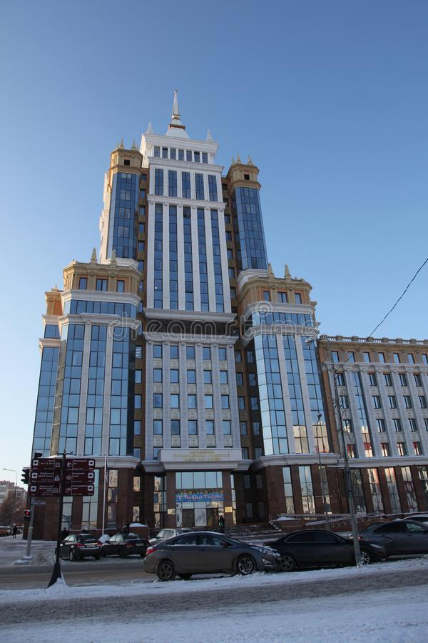 Россия Республика Мордовии, собор St Теодор Ushakov в Саранске стоковая фотография
