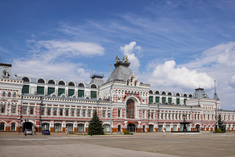РОССИЯ, NIZHNY NOVGOROD, ансамбль Nizhny никакого стоковое фото