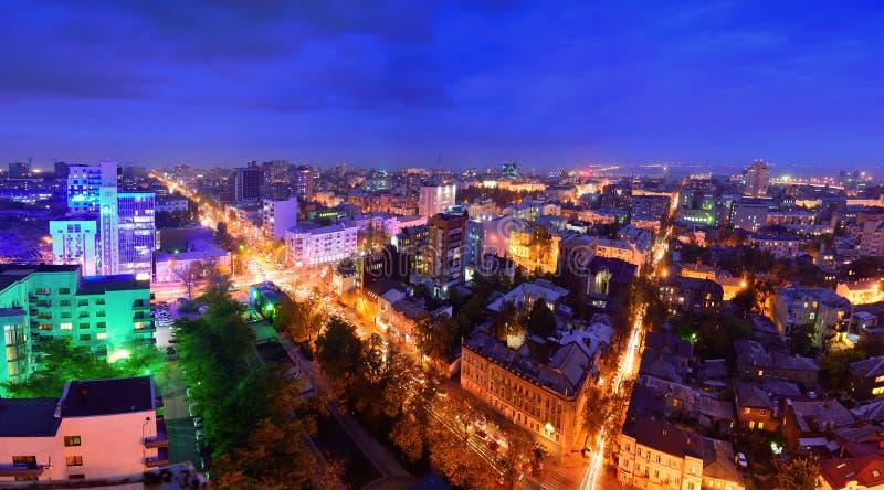 Россия Rostov On Don Красная Армия улицы перекрестков и prospe стоковое изображение