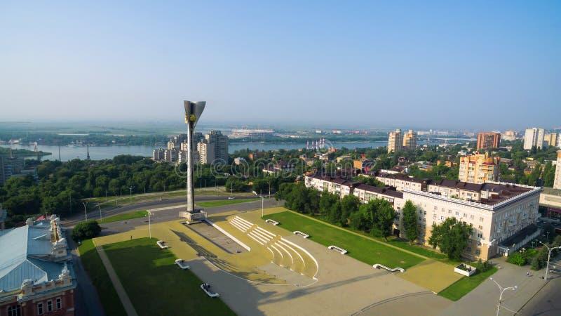 Россия Rostov On Don Мемориальный комплекс в честь liberati стоковые фото