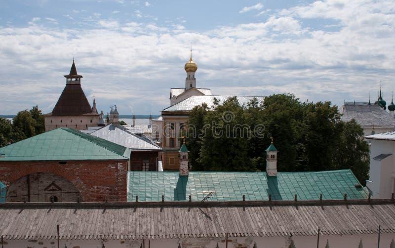 Ростов большой, Кремль стоковые изображения