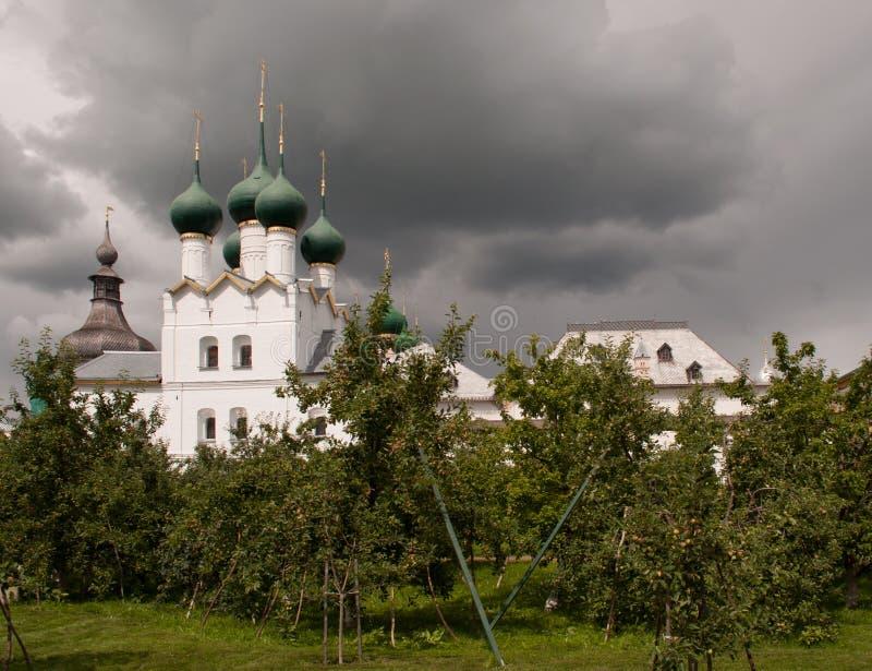 Ростов большой, Кремль стоковое фото rf