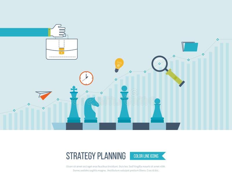 Рост вклада Дело стратегии Инвестиция бесплатная иллюстрация